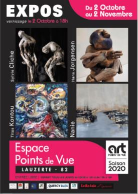 Illustration de « ANNULÉ - Expositions Art Points de Vue - Octobre »