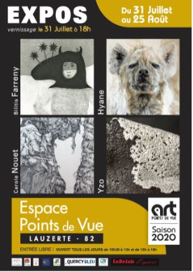 Illustration de « Expositions Art Points de Vue - Août 2020 »